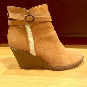 Shoes - Low cut women boots Suede Rugged